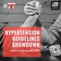 Artwork for #77: Hypertension Guidelines Showdown