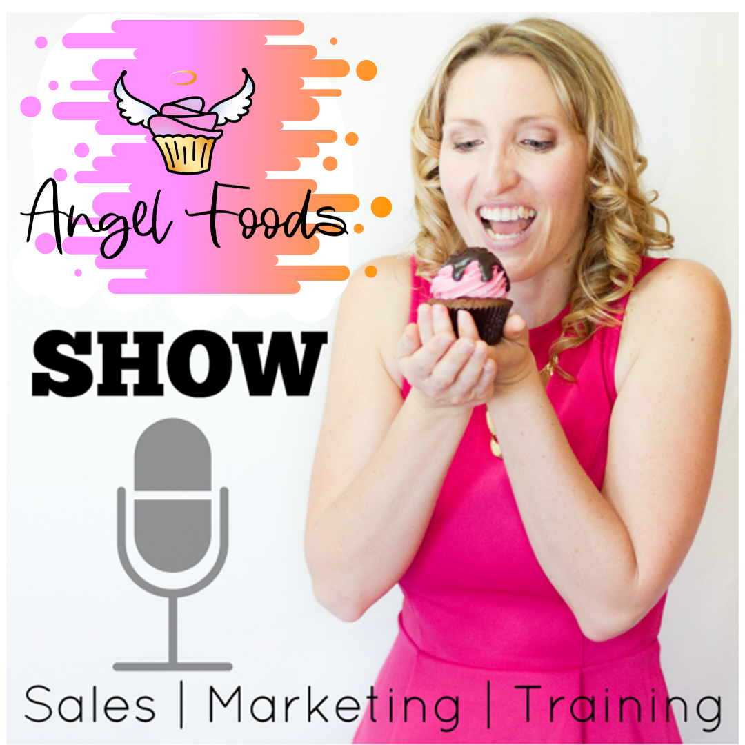 Angel Foods Show: Sales + Marketing + Training = Growing Sweet Business show art