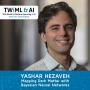 Artwork for Mapping Dark Matter with Bayesian Neural Networks w/ Yashar Hezaveh - TWiML Talk #250
