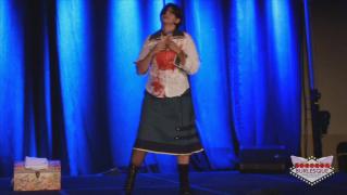 116 - Victoria Belmont as Elizabeth Comstock