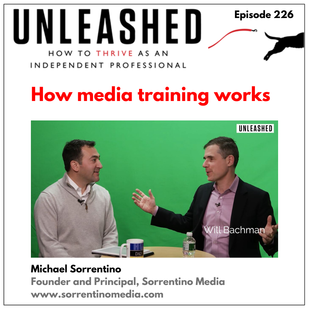 Artwork for 226. Michael Sorrentino provides media training