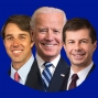 Artwork for #1271 The moderates are coming! (Beto, Biden and Buttigieg)