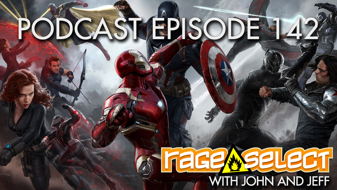 Rage Select Podcast Episode 142 - John and Jeff Answer Your Questions!