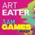 01: Lizards with boomerangs, Jesus... show art