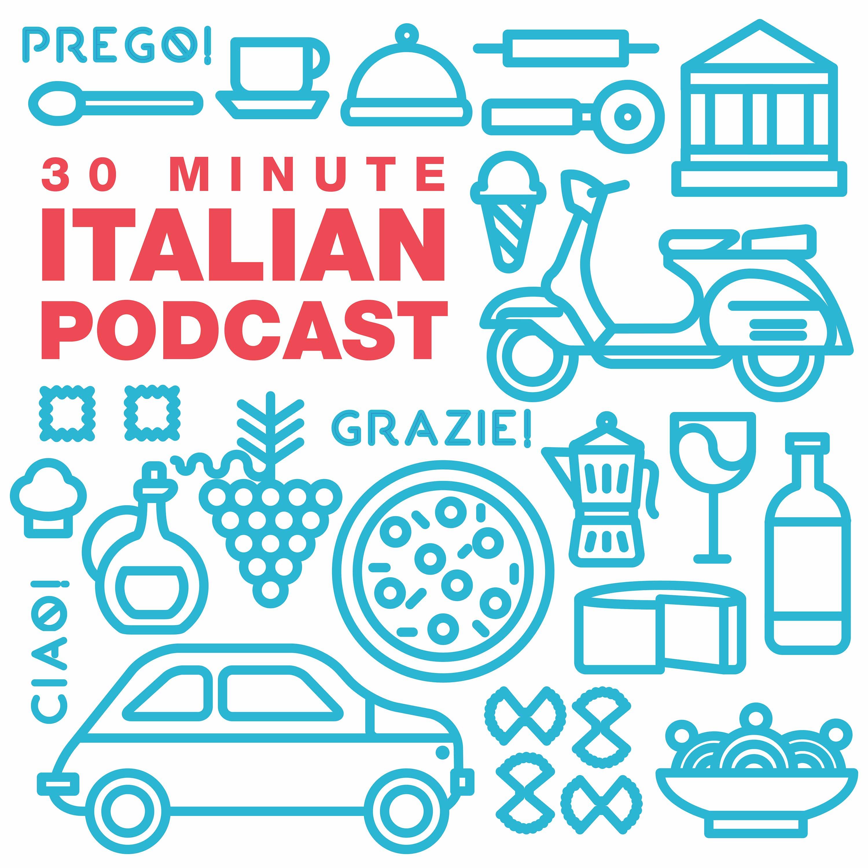 30 Minute Italian show art