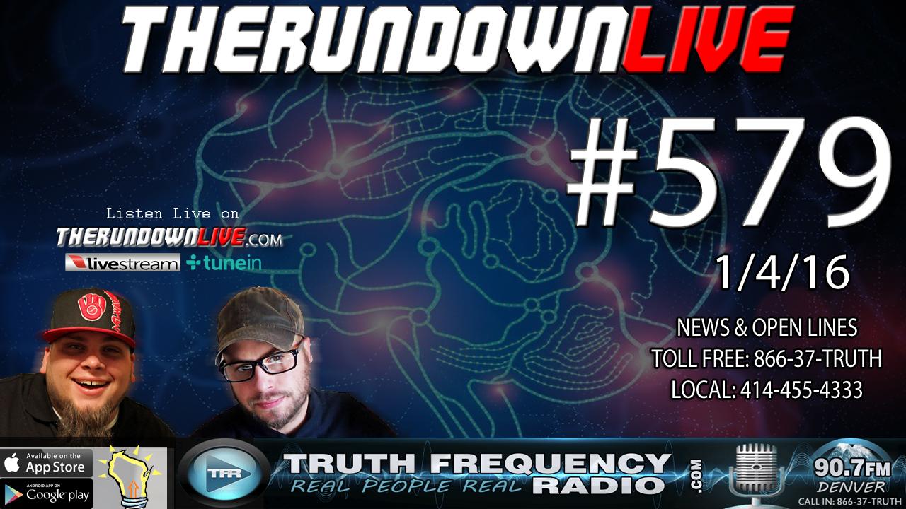 The Rundown Live #579 (Oregon,Militia,New American Revolution?)