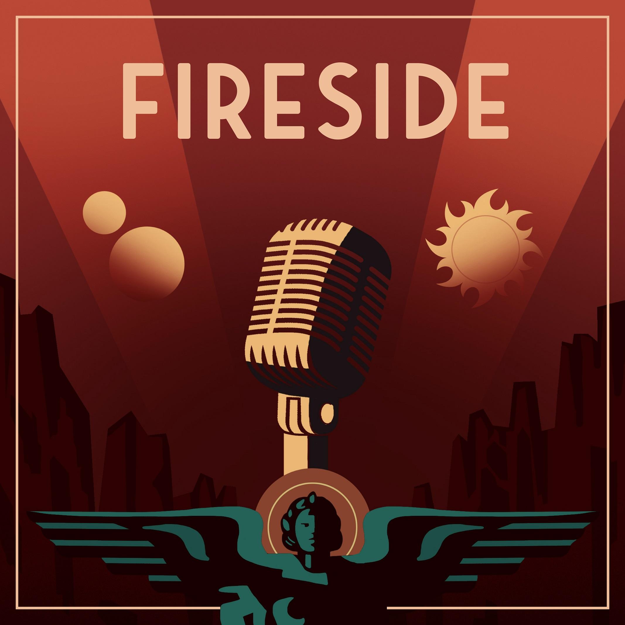FIRESIDE show art