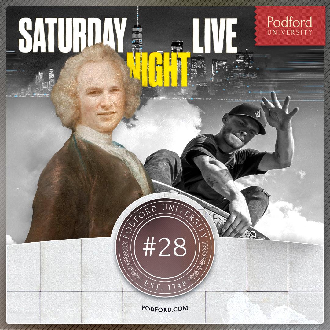 Podford University: Gerald Hosts SNL