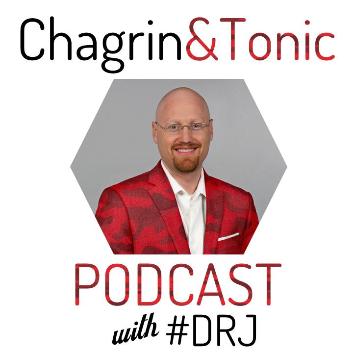 Chagrin & Tonic Podcast show art