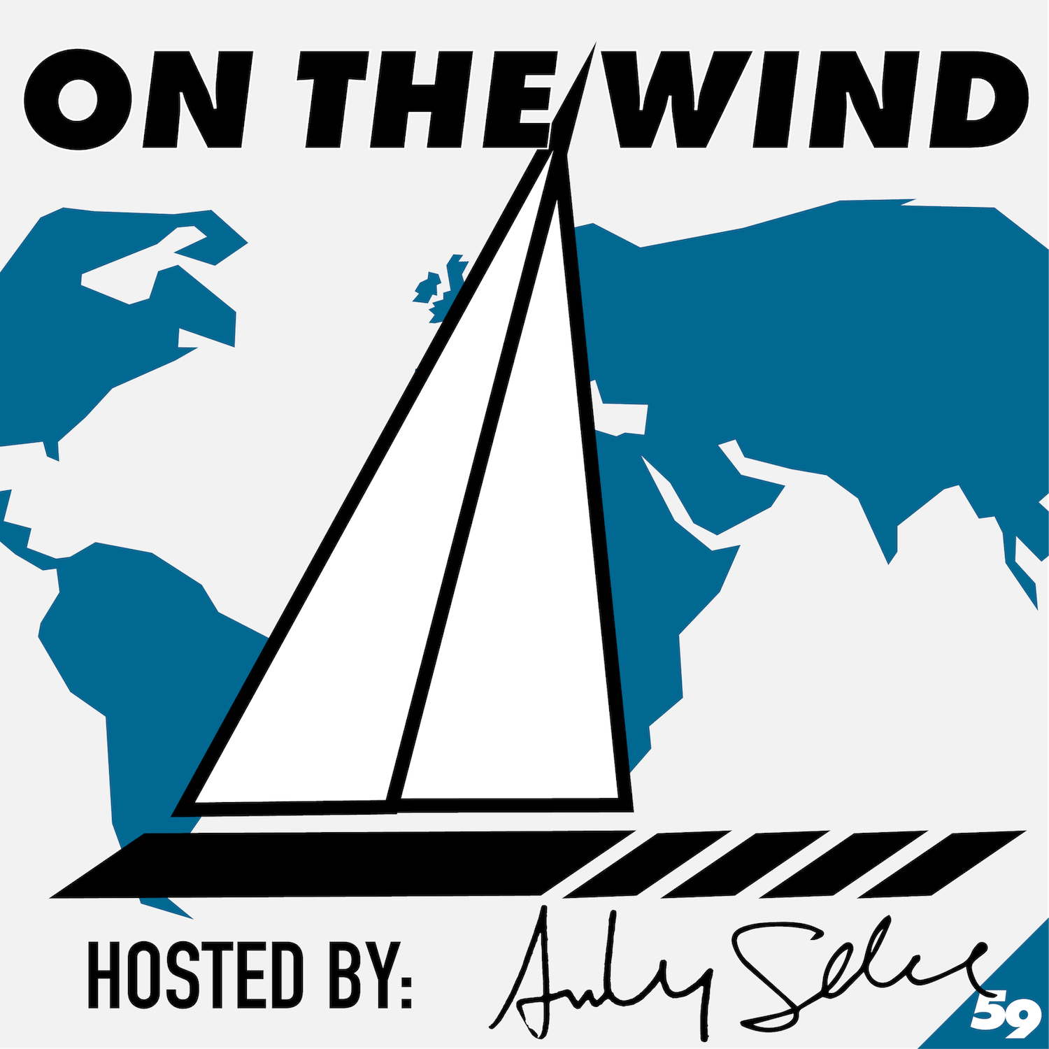 On the Wind Sailing show art