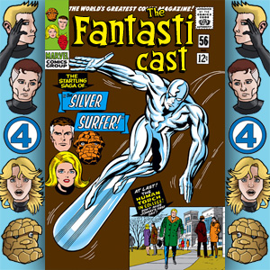 Episode 56: Fantastic Four #50 - The Startling Saga Of The Silver Surfer