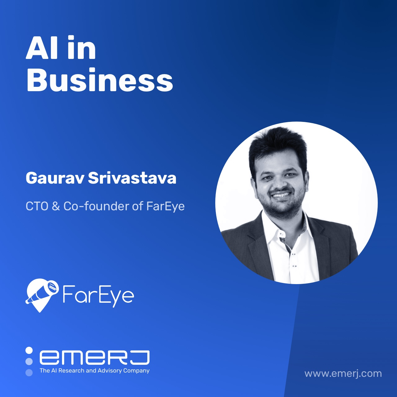 AI's Potential in Logistics - with Gaurav Srivastava of FarEye