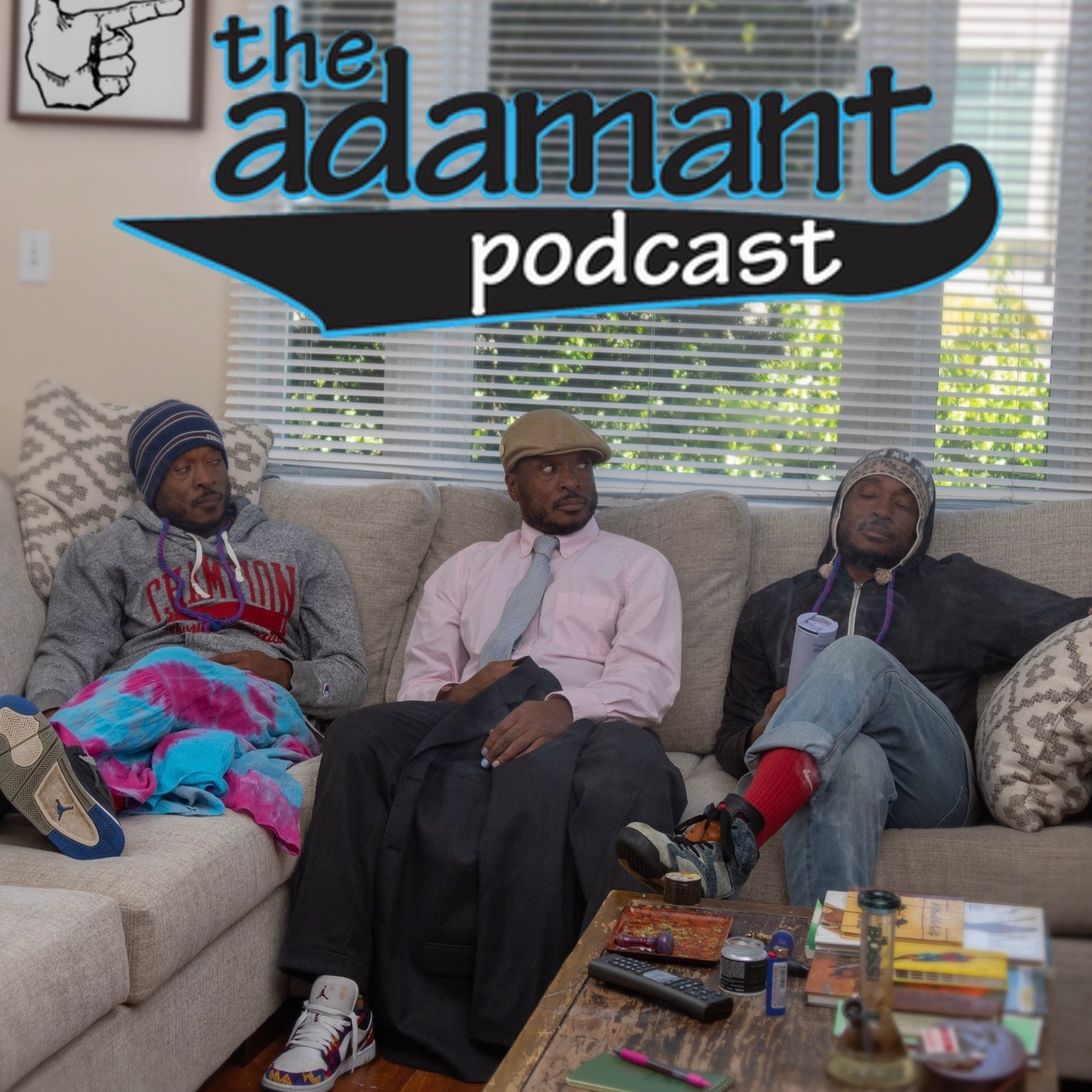 the adamant podcast show art