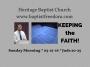Artwork for KEEPING THE FAITH