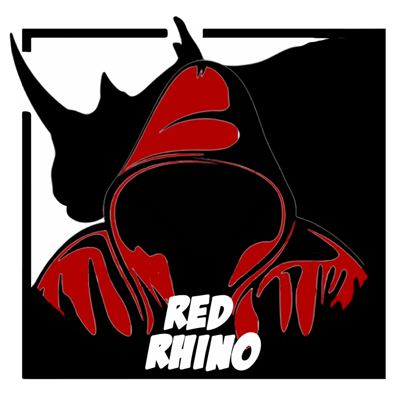 Red Rhino show art