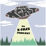 Artwork for THE X-CAST #89 - Joe Harris on The X-Files Comics & Cold Cases