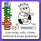 CG Podcast 037 - SCAA Recap, Doug Zell, USBC, espresso machine giveaway!