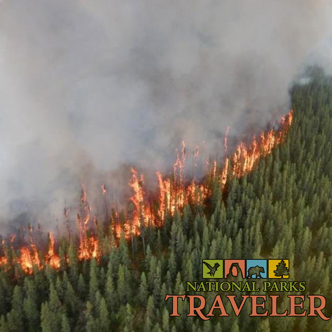 Artwork for National Parks Traveler: Using Satellites To Spot Wildfires In National Parks