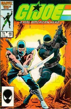 Artwork for Comics on Infinite Earths: G.I. Joe-The Death of Stormshadow and the Birth of Serpentor.