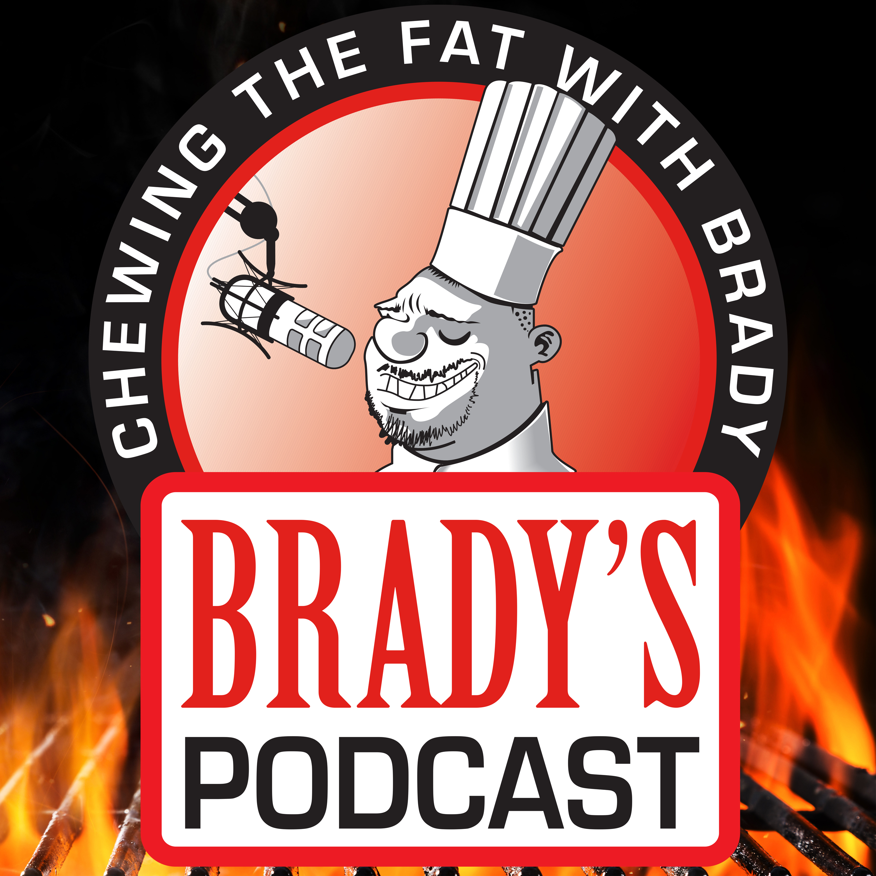 Chewing The Fat With Brady show art