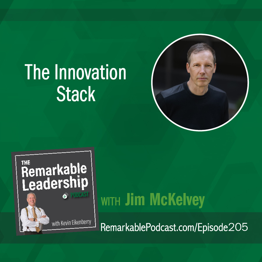 The Innovation Stack with Jim McKelvey show art
