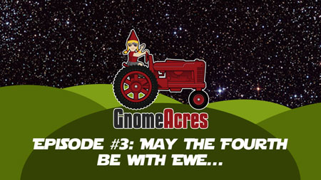 Artwork for Ep 3: May the Fourth be with Ewe!