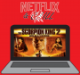"""Artwork for Netflix and Kill - Scorpion King 2 """"Rise of a Warrior"""""""