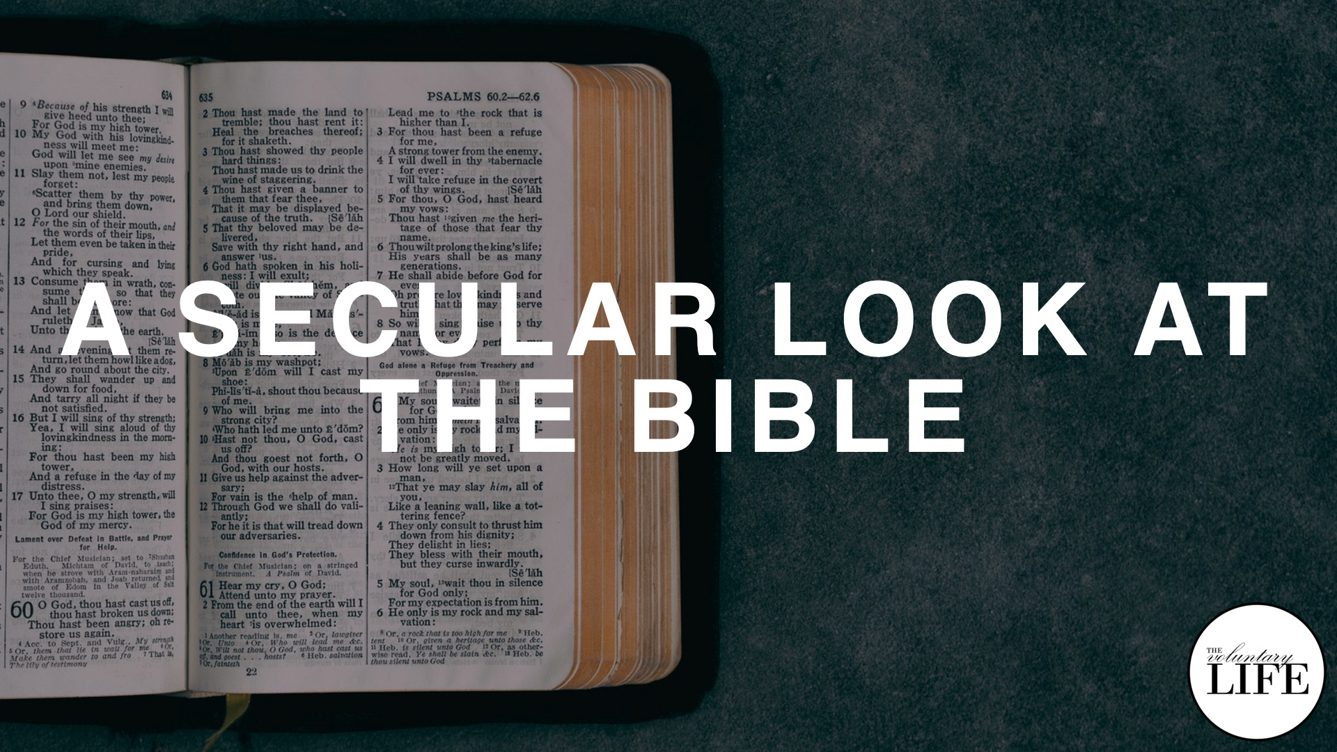 361 A Secular Look At The Bible