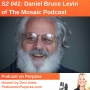 Artwork for S2 041: Daniel Bruce Levin of The Mosaic Podcast
