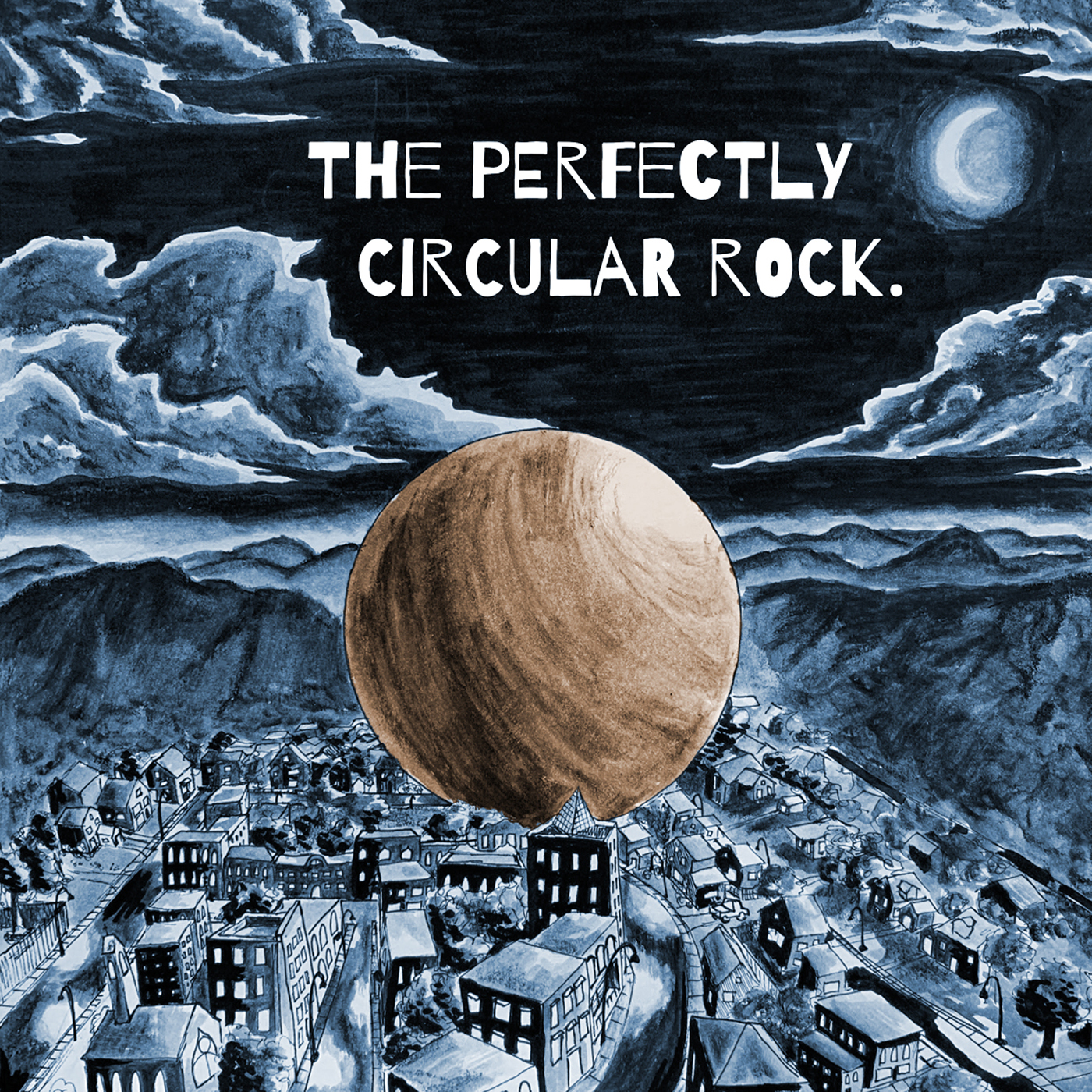 The Perfectly Circular Rock show art
