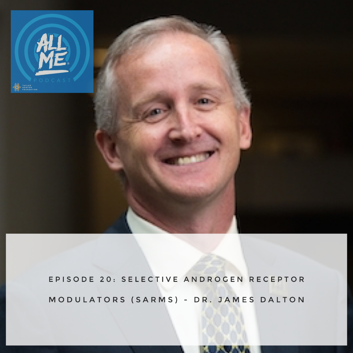 Episode 20: Selective Androgen Receptor Modulators (SARMs) - Dr. James Dalton