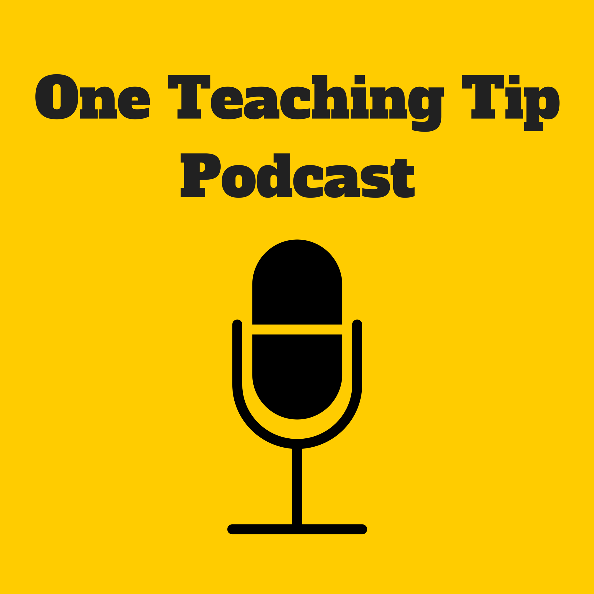 One Teaching Tip show art
