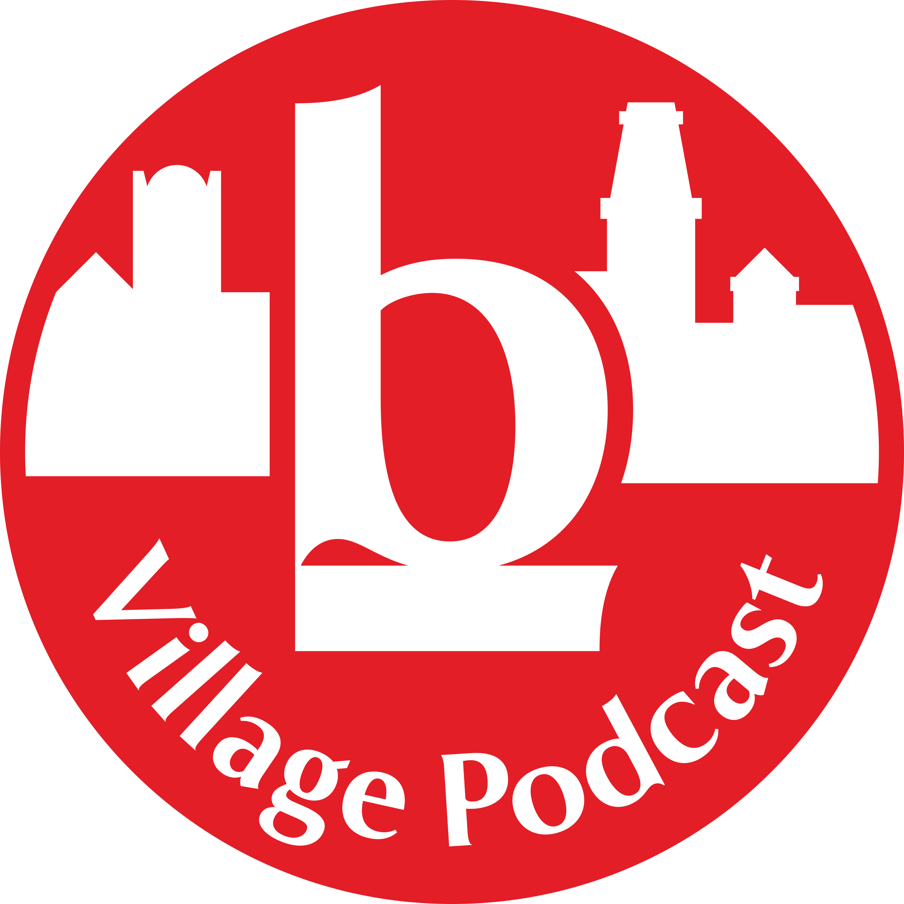 The Village Podcast from The Bookshelf show art