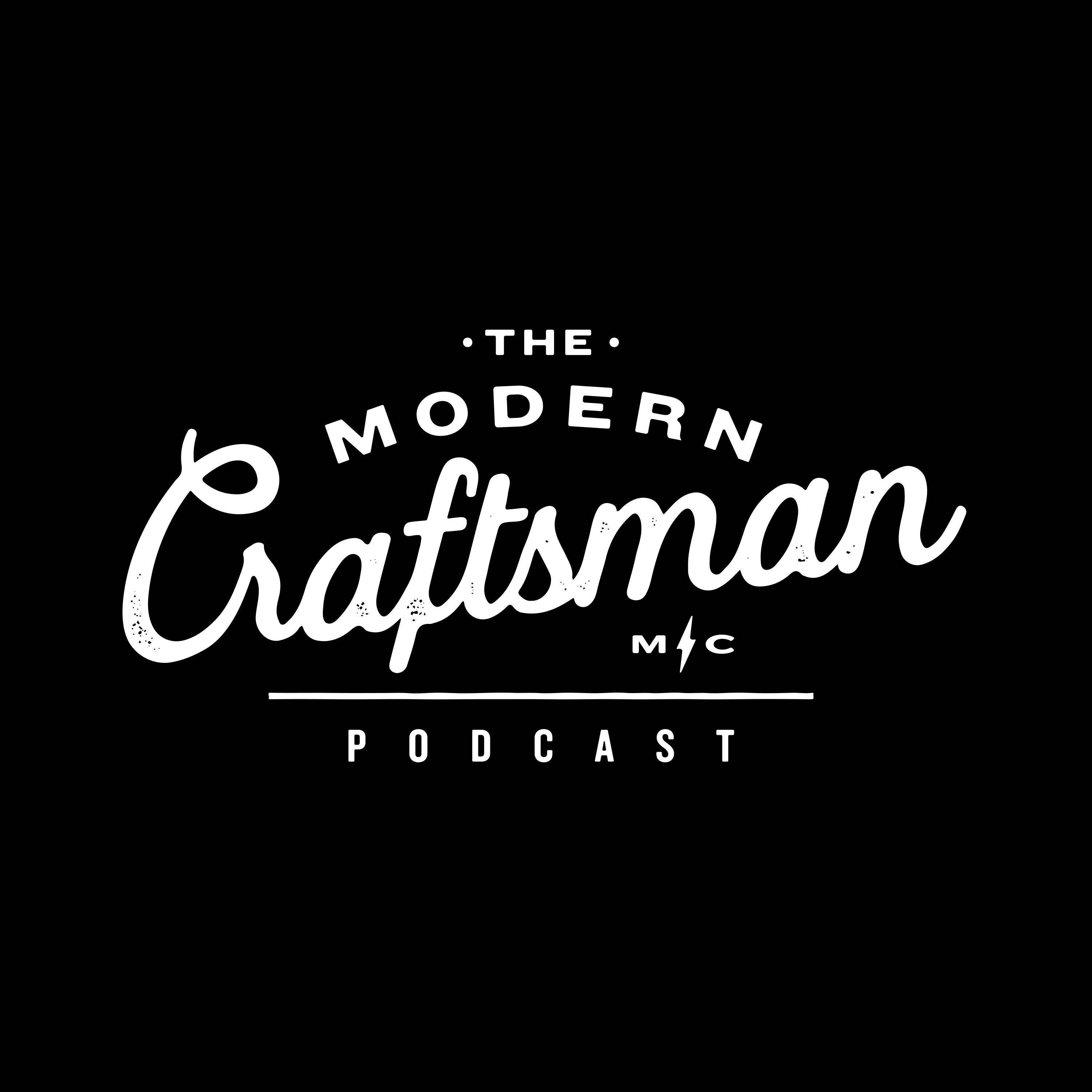 The Modern Craftsman Podcast show art