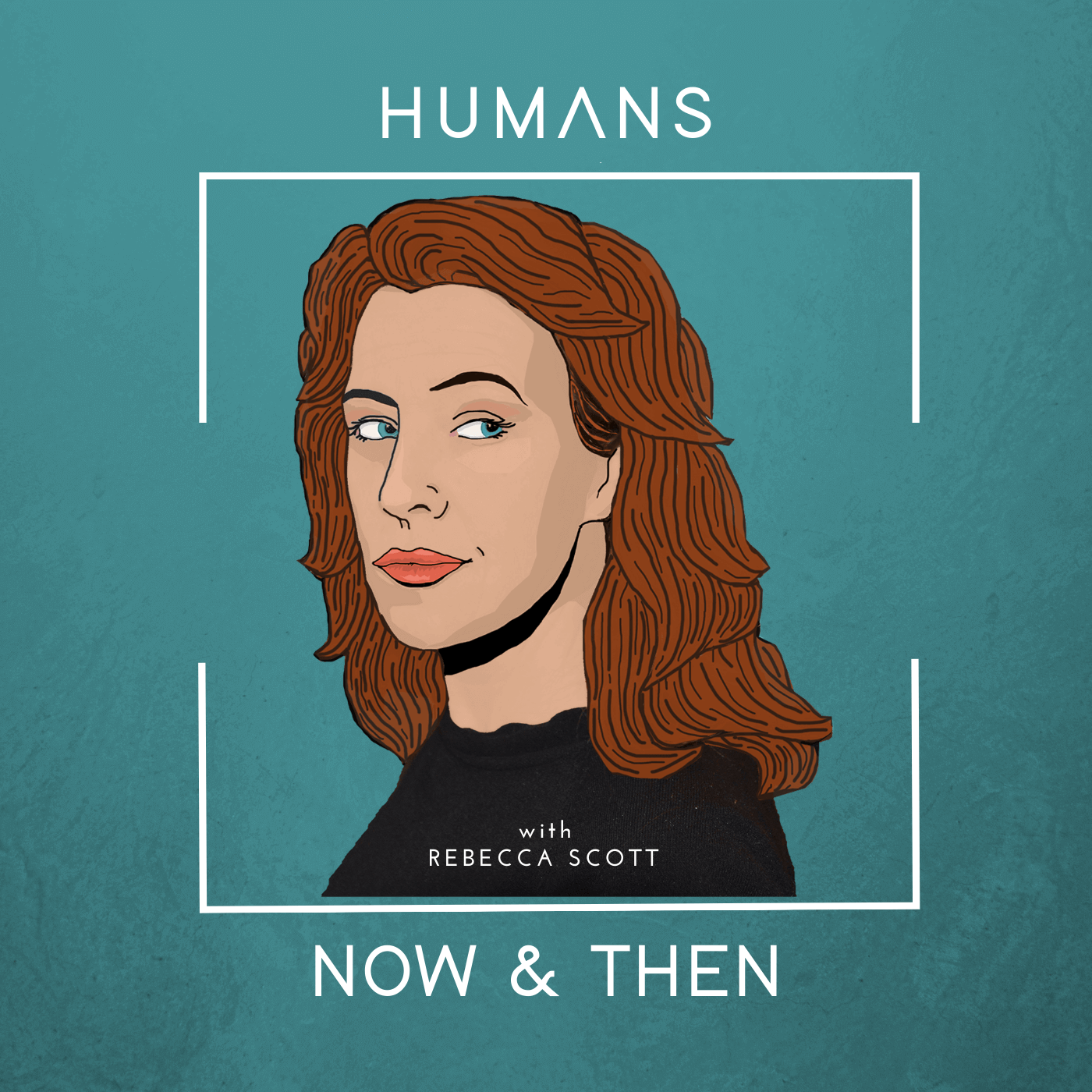 Humans, Now and Then show art