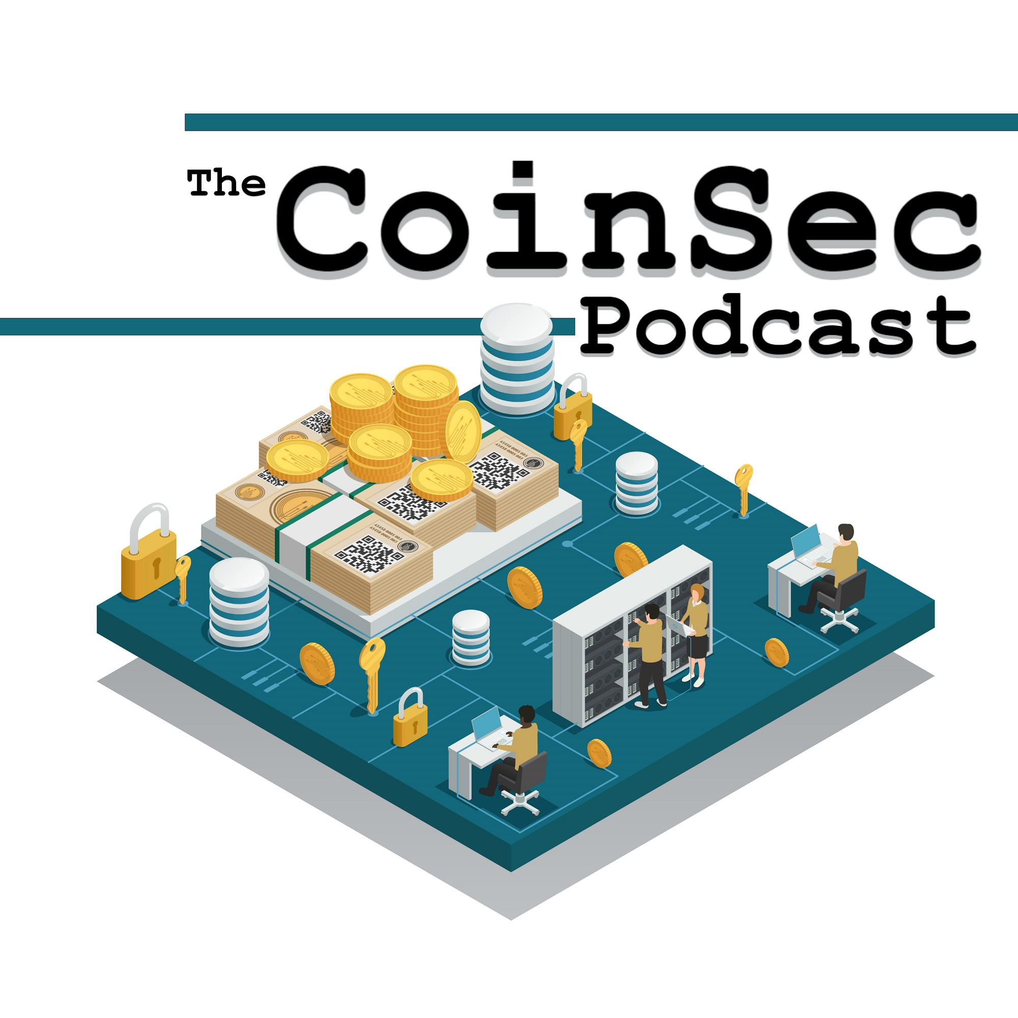 Episode 34: HASH WARS - BCH Fork, Mining Attacks, Ransomware, and Blockchain Games show art