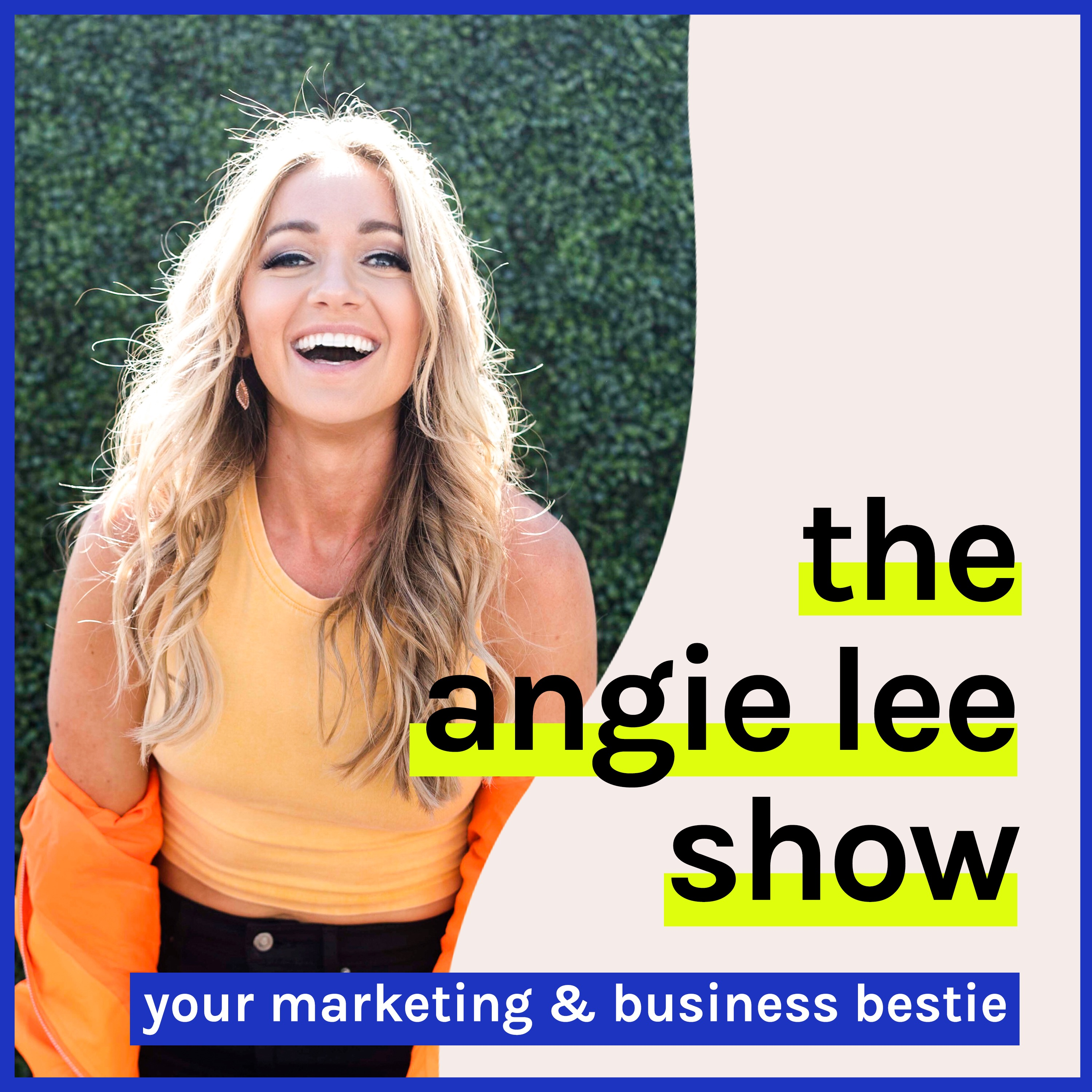 THE ANGIE LEE SHOW show art