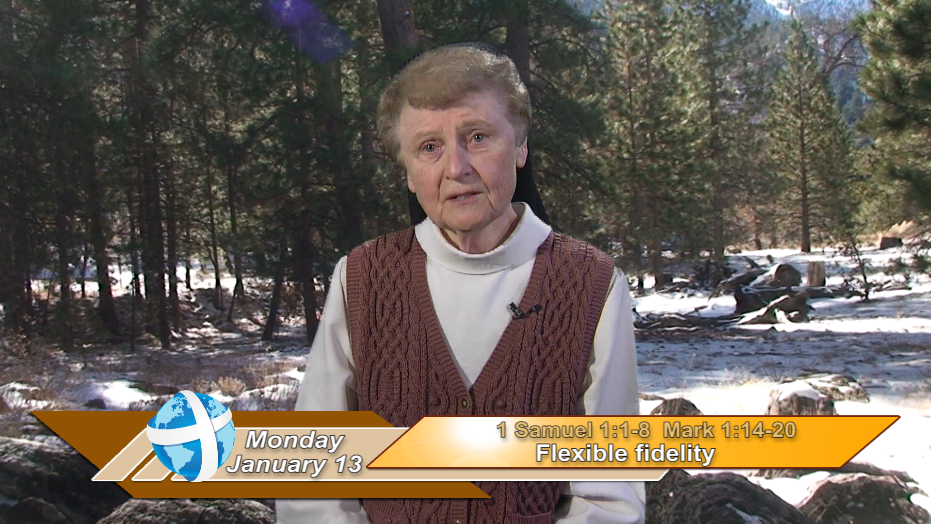 Artwork for iGod Today with Sr. Jeanne Harris, OP; Today's topic:  Flexible fidelity