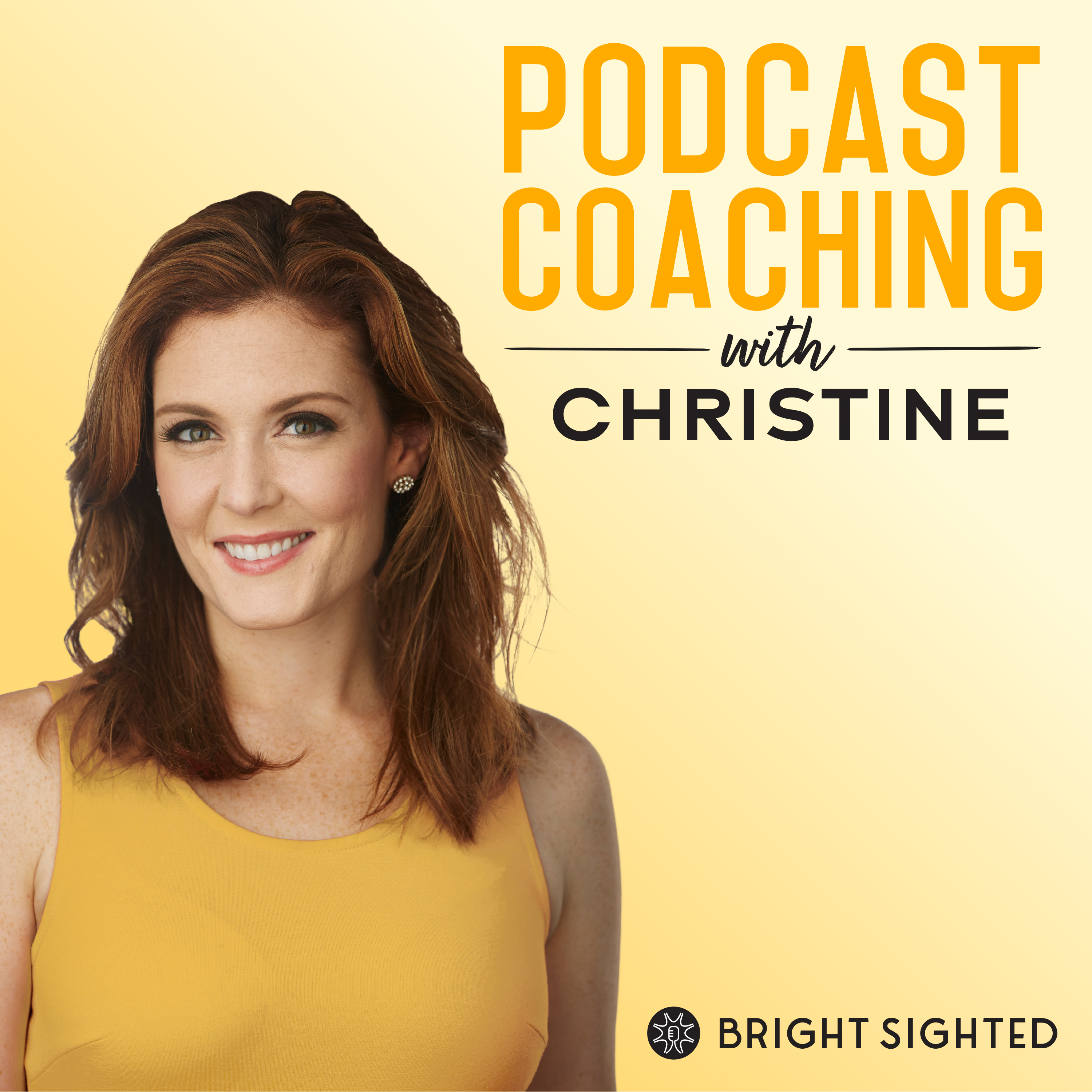 Podcast Coaching with Christine show art