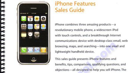 Desvelados detalles del iPhone en un curso de formación