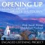 Artwork for Opening Up: Lessons from a Speaker Shutdown
