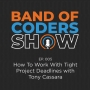 Artwork for 005 How To Work With Tight Project Deadlines with Tony Cassara