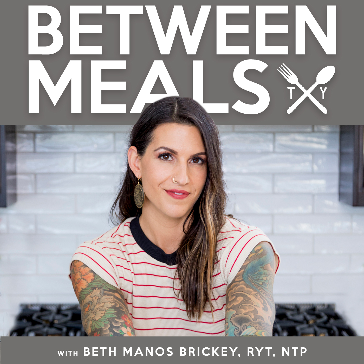 The Between Meals Podcast show art