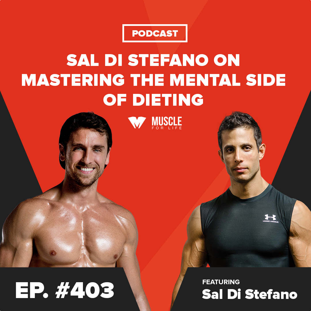 Artwork for Sal Di Stefano on Mastering the Mental Side of Dieting