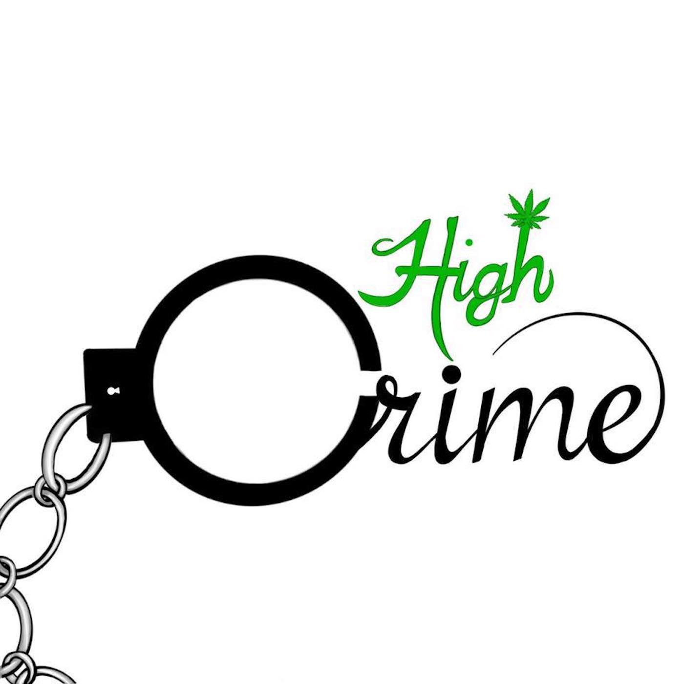 High Crime Pod show art