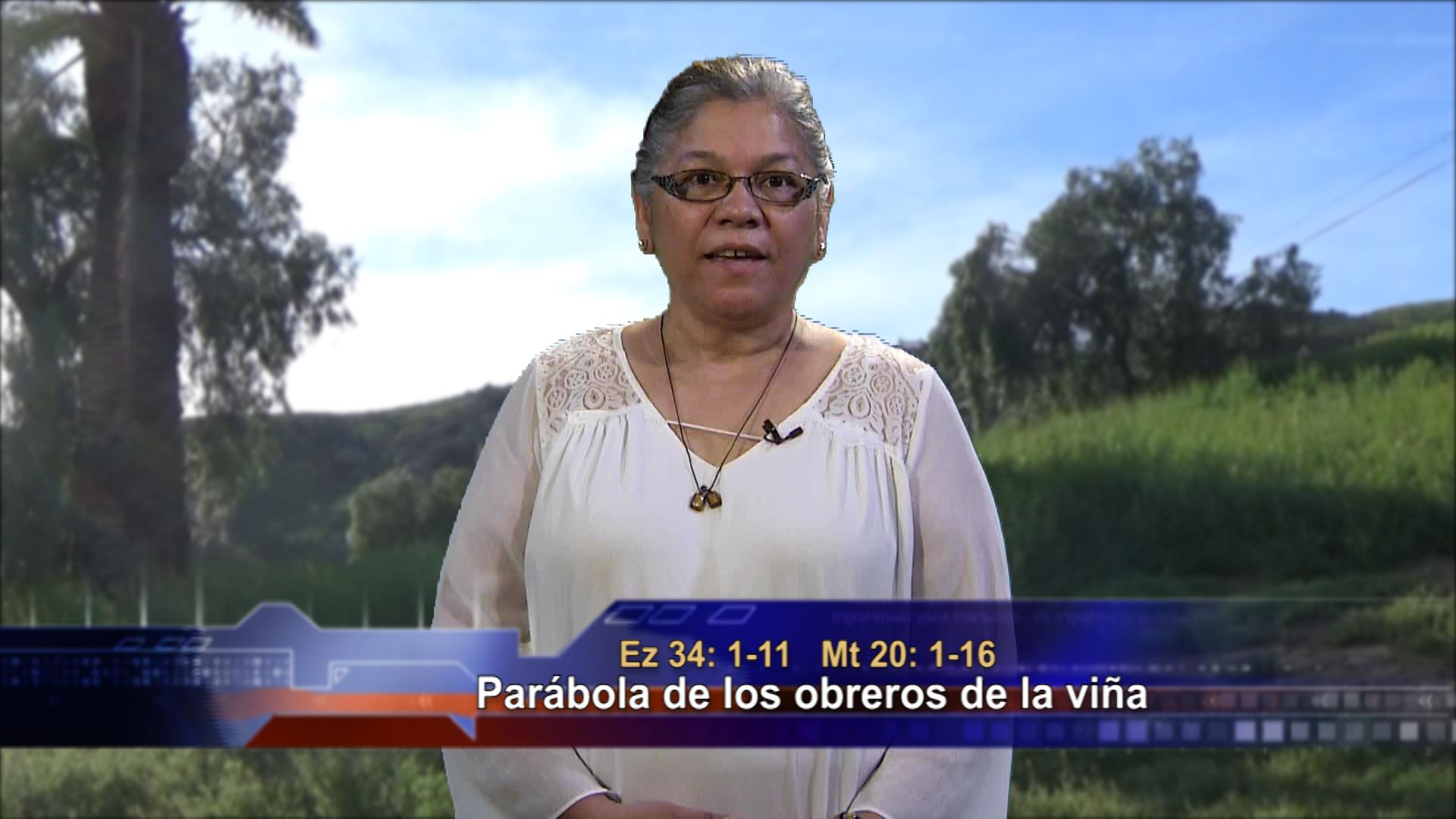 Artwork for Dios te Habla con Angela Valencia;  Tema el hoy: Parábola de los obreros de la viña.