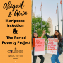 Artwork for AIRIN AND ABIGAIL: Mariposas in Action and The Period Poverty Project