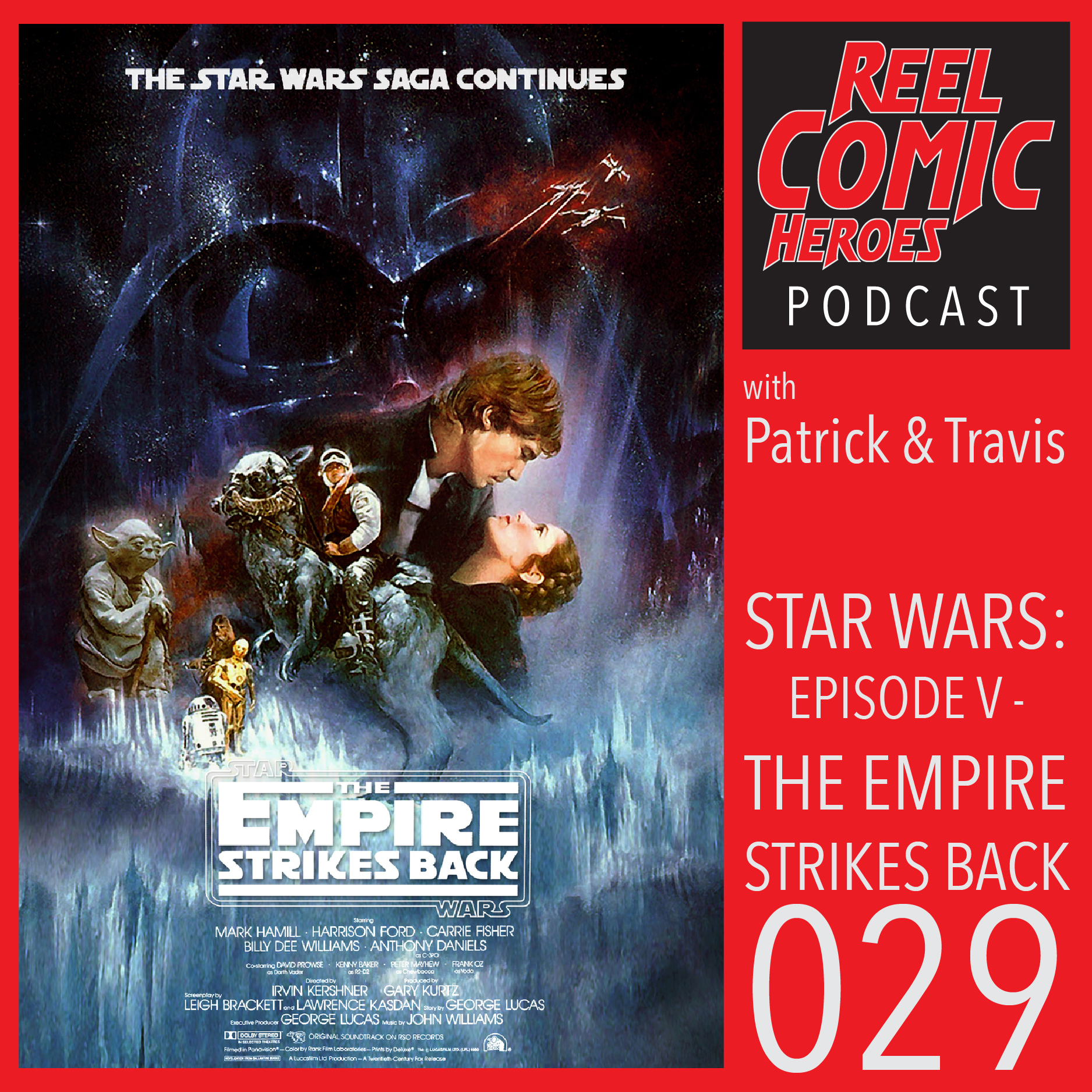 Artwork for Reel Comic Heroes 029 - Star Wars: Episode V - The Empire Strikes Back
