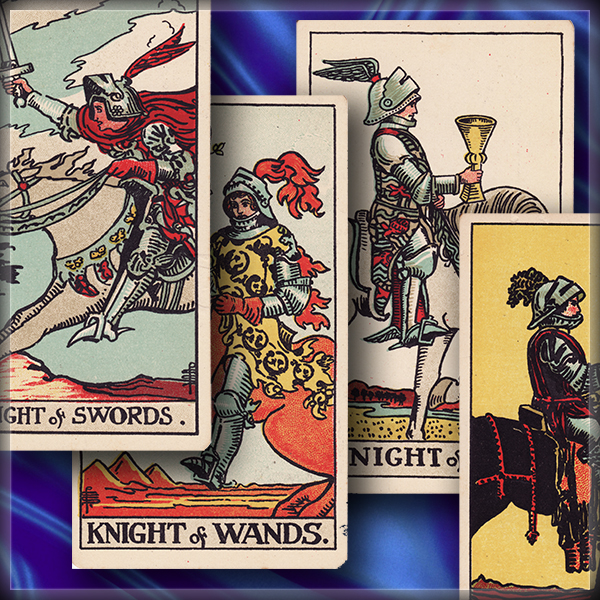 Tarot court cards: Knights (Double episode!)