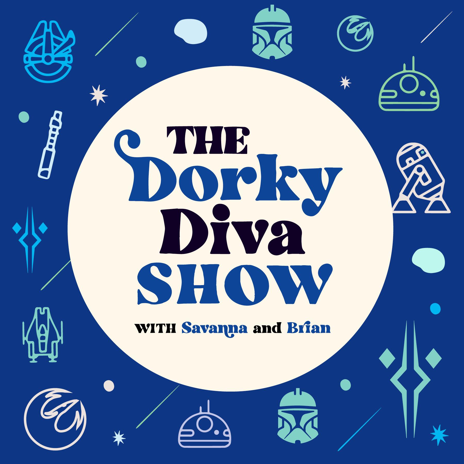 The Dorky Diva Show show art